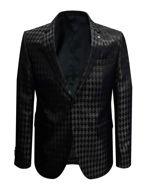 Picture of Karl Lagerfeld Karl Logo Black Formal Jacket