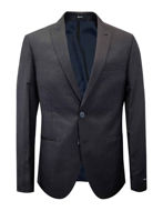 Picture of Reporter Navy Square Slim Suit