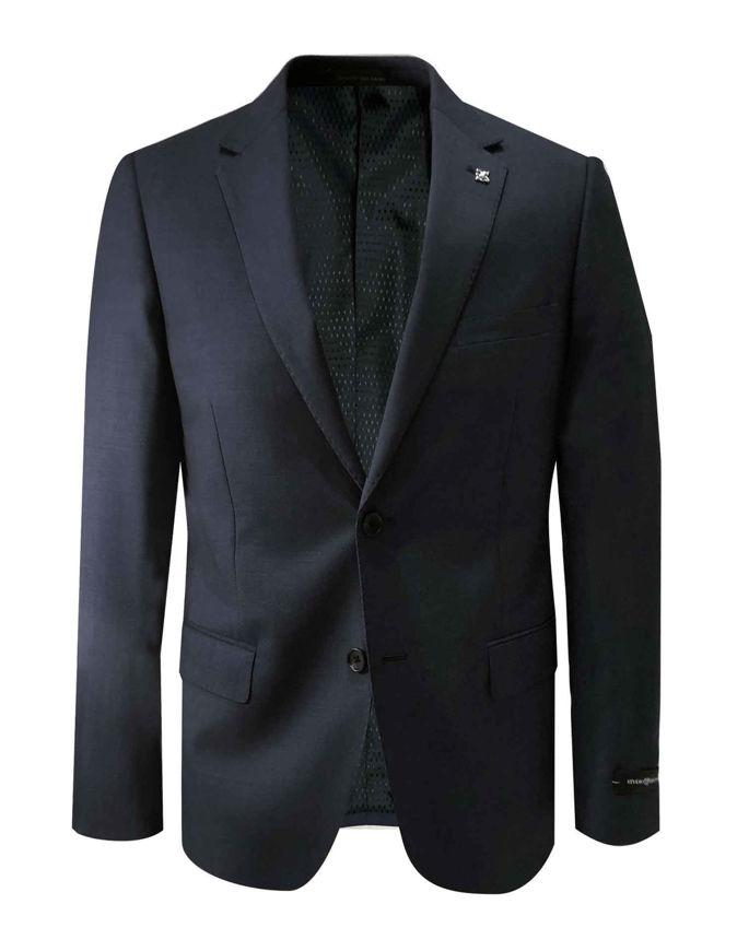 Picture of Studio Italia Black Stretch Suit