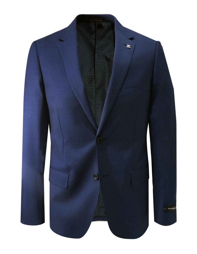 Picture of Studio Italia Blue Stretch Suit