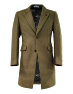 Picture of Pearly King Orbit Slim Overcoat