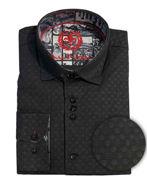 Picture of Au Noir Edwin Cotton Black Shirt