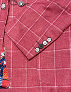 Picture of Au Noir Dustin Red Check Jacket