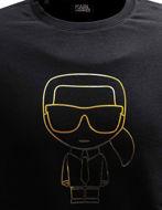 Picture of Karl Lagerfeld Black & Gold Sweatshirt