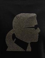 Picture of Karl Lagerfeld Studded Black Sweatshirt