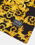 Picture of Versace Black Logo Baroque Print Slim Tee