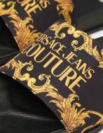 Picture of Versace Versallies Print Black Slides