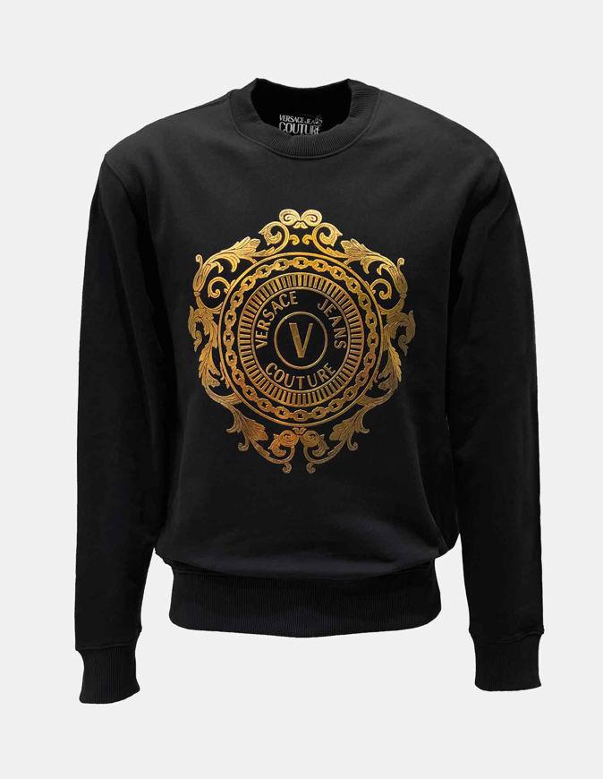 Picture of Versace Gold Emblem Sweatshirt