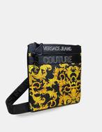 Picture of Versace Outline Logo Baroque Print Crossbody Bag