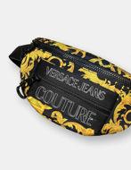 Picture of Versace Outline Logo Baroque Print Belt Bag
