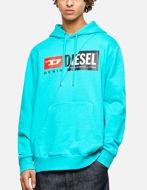 Picture of Diesel D-Logo Hood Sweatshirt