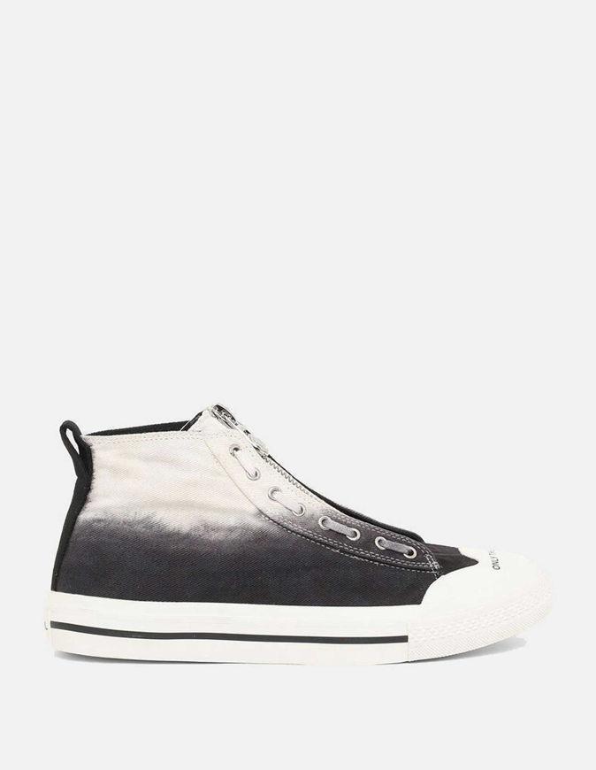 Picture of Diesel Astico Mid-Zip Grey Sneaker
