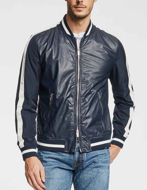Picture of Gaudi Sporty Stripe Bomber Jacket